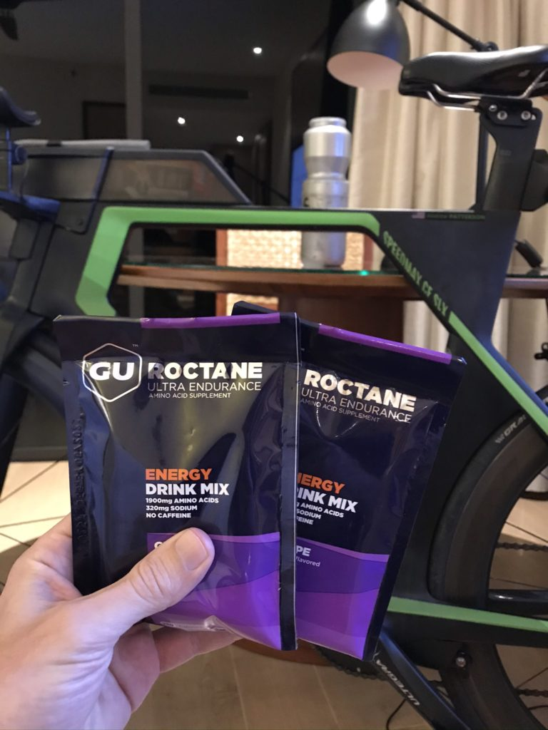 Two aachets of GU Energy Drink Mix