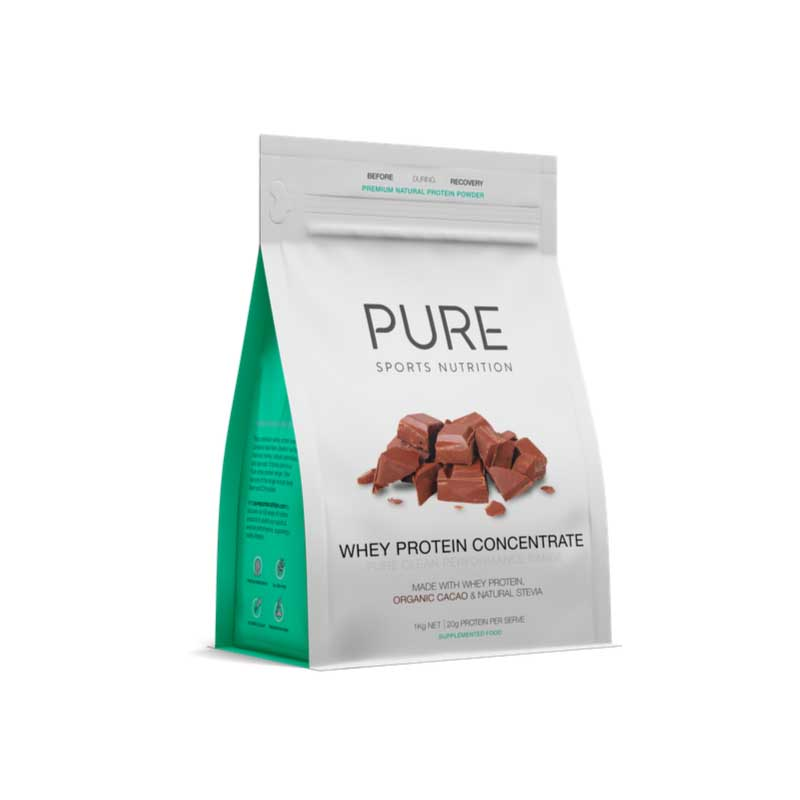 Pure whey protein pouch