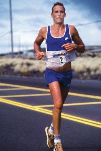Dave Scott racing in Kona